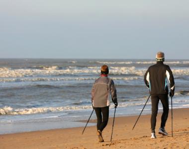 marche nordique plage de fort-mahon-plage